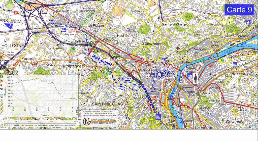 Topographie wallonie